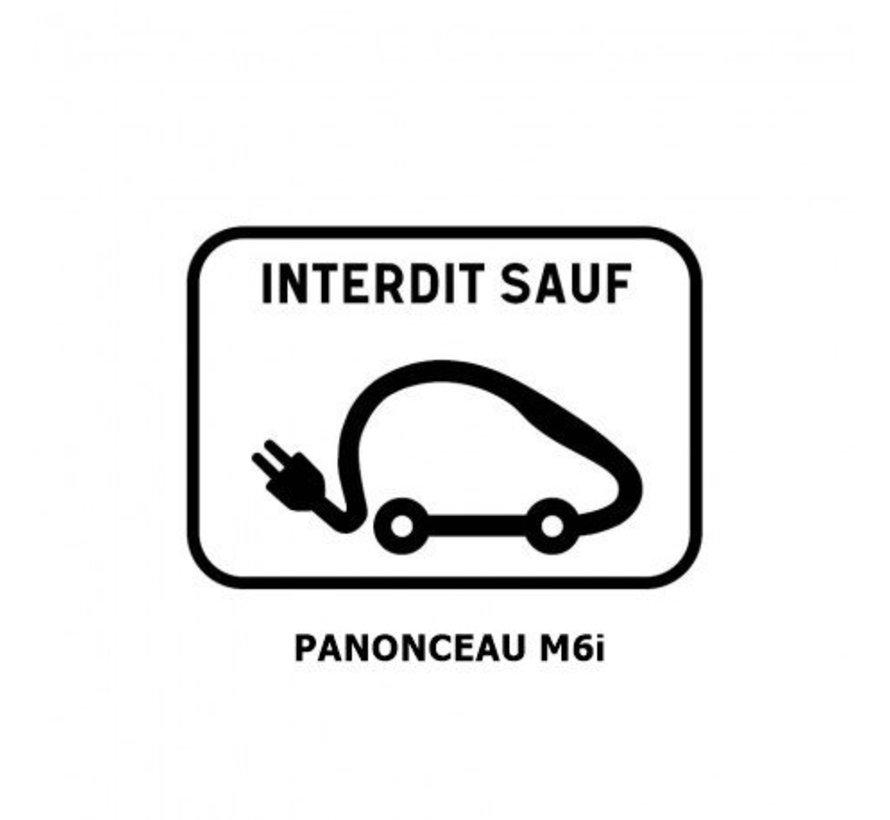 Panonceau M6i (pour panneau rond)