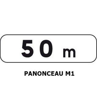 Panonceau M1 (pour panneau triangle)
