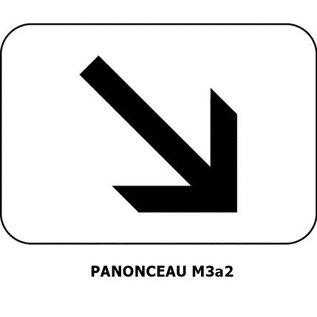 Panonceau M3a2 (pour panneau carré)