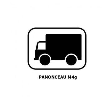Panonceau M4g (pour panneau rond)