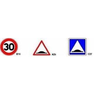 Kit de signalisation pour ralentisseurs