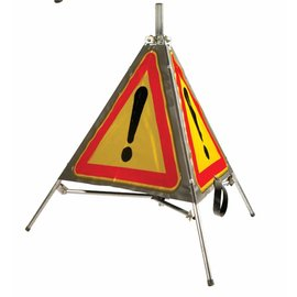 Tripode de signalisation panneau AK 14