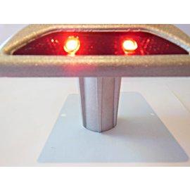 Plot solaire à LED encastré