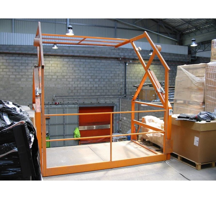 Barrière écluse - SAS A VOLET V200 : pour une hauteur de palette maximum de 2000 mm