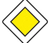 Panneaux de signalisation Type AB : Priorités particulières