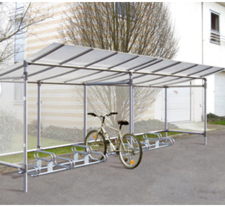 Abris vélos 5 places