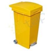 Mini conteneur 80 litres jaune