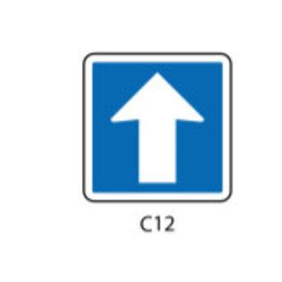 Panneau type CK12 sur support mobile