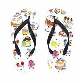 Slippers cakes