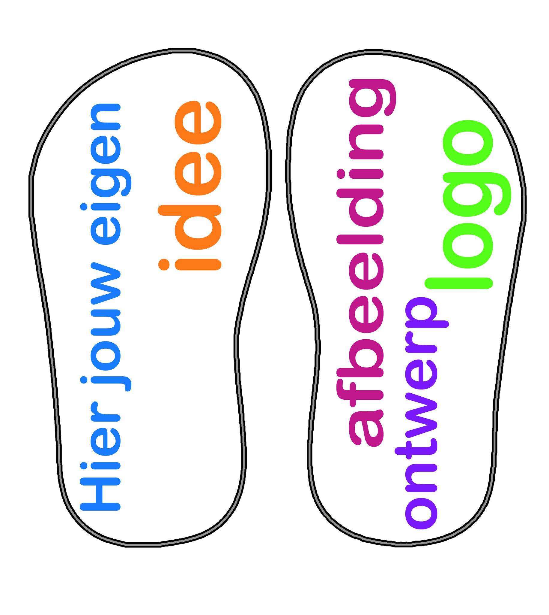 slippers naar wens