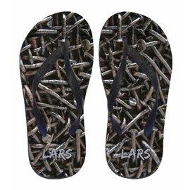 Spijker slippers