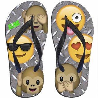 Slipper emoji met naam