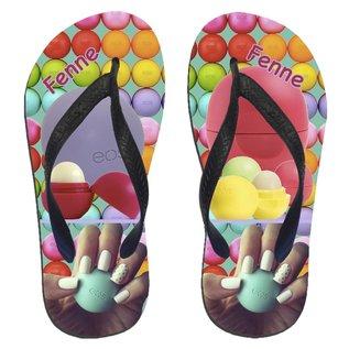 Eos slippers met naam