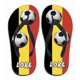 Voetbal slippers Belgie