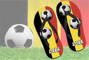 Van top tot slipper supporteren voor de Rode duivels met deze toffe EK-slippers!