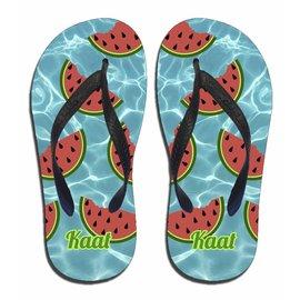 Watermeloen slippers met naam