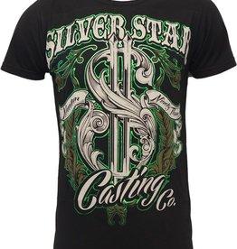 Silver Star Mint Premium Foil T-Shirt