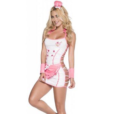 Espiral Zoete bakker lingerie kostuum