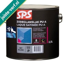SPS verf Aanbieding: Zijdeglanslak PU-A