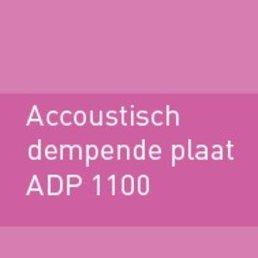 Geluiddempende plaat 1100 (ADP)