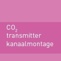 CO2 transmitter kanaalmontage