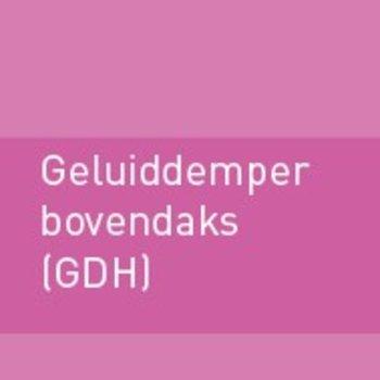 Geluiddemper bovendaks 500 (GDH)