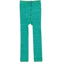 Le Big Legging gemeleerd groen/blauw Le Big