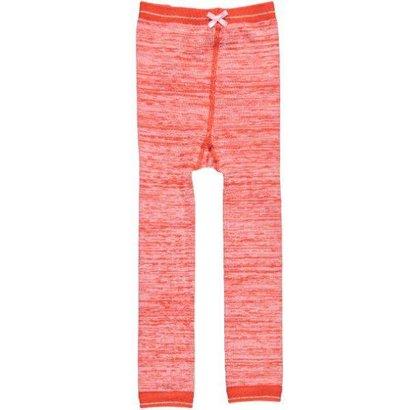 Le Big Legging gemeleerd oranje Le Big