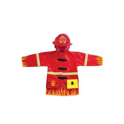 Kidorable Regen jas brandweerman Kidorable