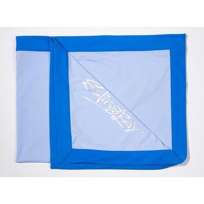 Stingray UV werende lichtblauwe babydeken Stingray