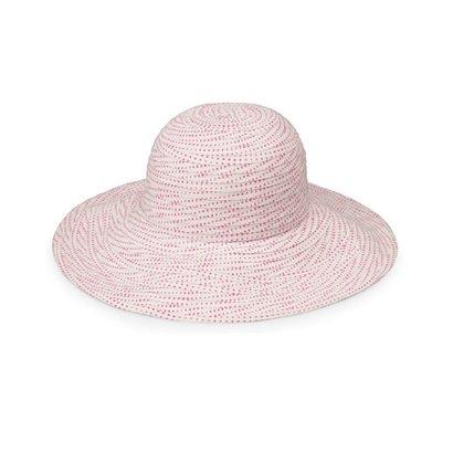 Wallaroo Petite scrunchie roze/ wit Wallaroo