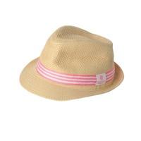 Snapperrock UV werend zonnehoedje Fedora roze Snapperrock