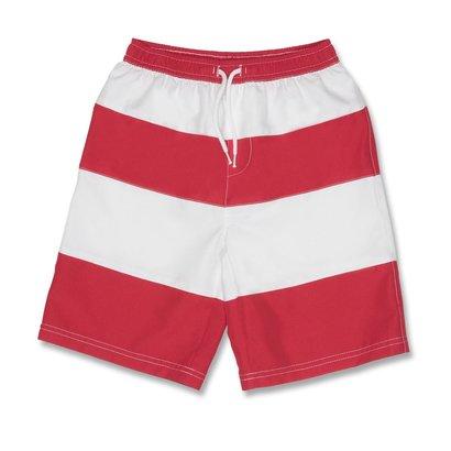 Snapperrock Zwembroek Red White Stripe Snapperrock