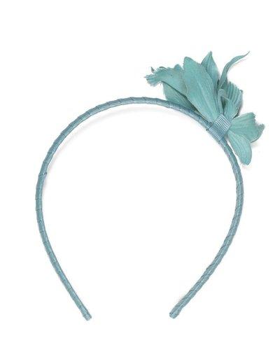 Le Big Pastel blauw bloemen diadeem Le Big - Copy