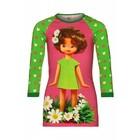 Mim-Pi Groen roze Doll dress Mim-Pi