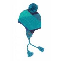 Mim-Pi Blauwe muts met oorkleppen Mim-Pi