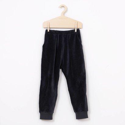 Mimimono Fluwelen baggy broek donker grijs   Minimono