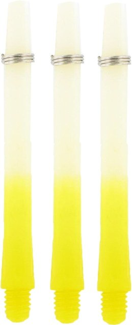 Bull's TWO-TONE Nylon Shaft + Ring Yellow