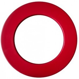 Unicorn Darts PROFESSIONAL Dartboard surround - Red