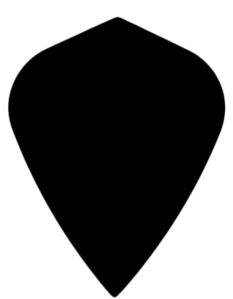 "Bull's POLYNA Plain Kite Flight ""Black"""
