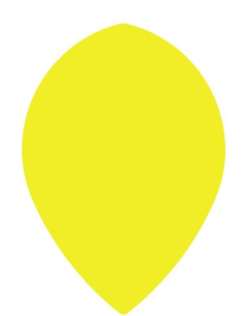 "Bull's POLYNA Plain Pear Flight ""Yellow"""