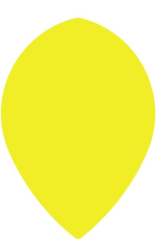 Bull's POLYNA Plain Pear Flight Yellow