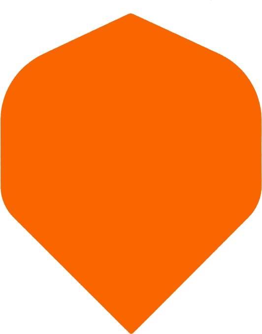 "Bull's POLYNA Plain Standaard Flight ""Orange"""