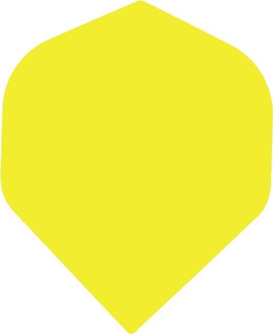 Bull's POLYNA Plain Standaard Flight Yellow