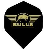 """Bull's POWERFLITE Solid """"Black"""" Golden Bull's logo"""