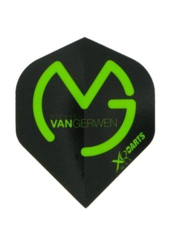 MVG Flight MVG Logo - Black