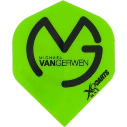 XQ-Max Darts MVG Flight MVG Logo - Green