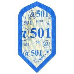"Bull's DIAMOND Slimline Flight ""@501 Blue"""