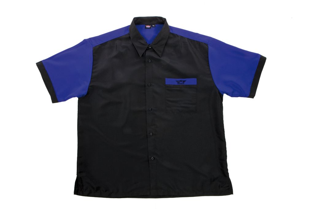 Bull's Dartshirt BLACK - BLUE