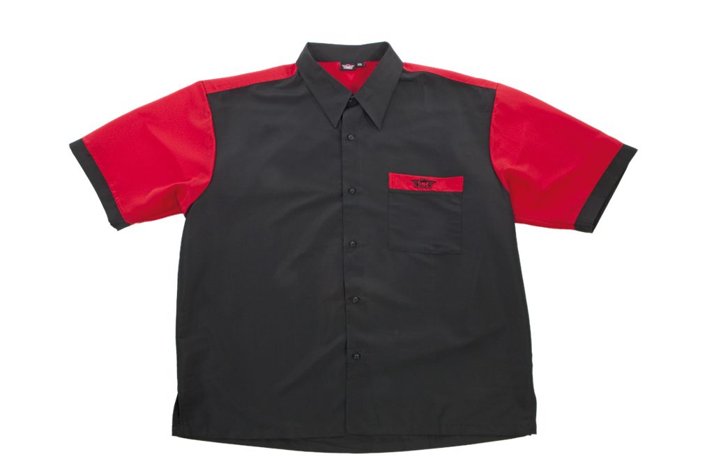 Bull's Dartshirt BLACK - RED